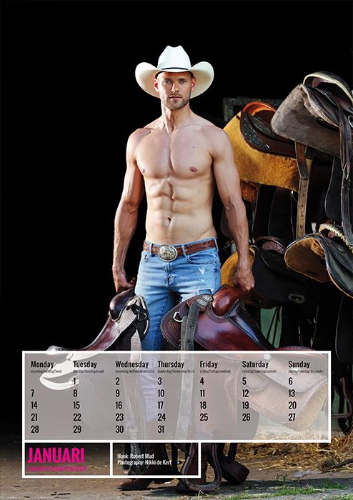 horse and hunk kalender 2019